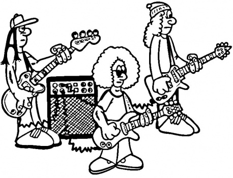 rock-band-on-rehearsal-coloring-page